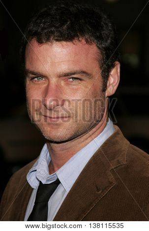 Liev Schreiber at the AFI Centerpiece Gala Screening of 'The Fountain' held at the Grauman's Chinese Theatre in Hollywood, USA on November 11, 2006.