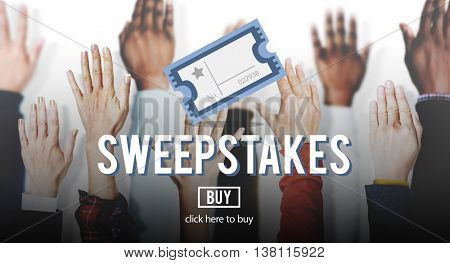Sweepstake Win Winner Chance Enter Betting Concept