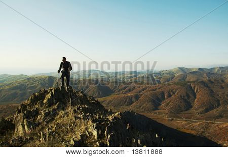 Trekking in the Crimea