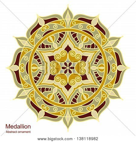Ethnic Medallion-mandala.