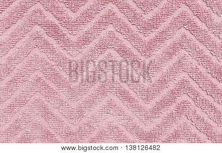 Closeup surface old pink mat texture background