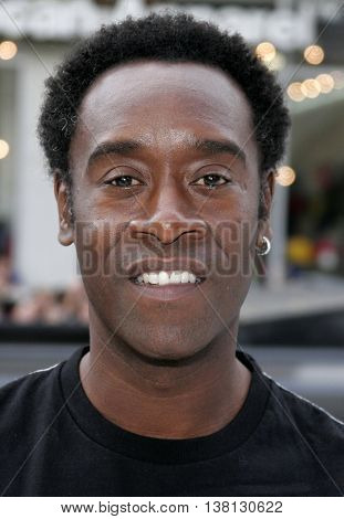 Don Cheadle at the World premiere of 'Happy Feet' held at the Grauman's Chinese Theatre in Hollywood, USA on November 12, 2006.
