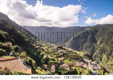 Picturesque Ribeira Da Janela In The North Of Madeira