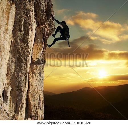 Rocha alpinista