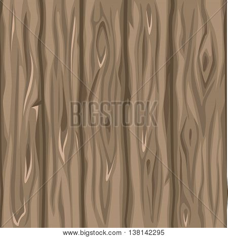 Wood texture of the old board in vector