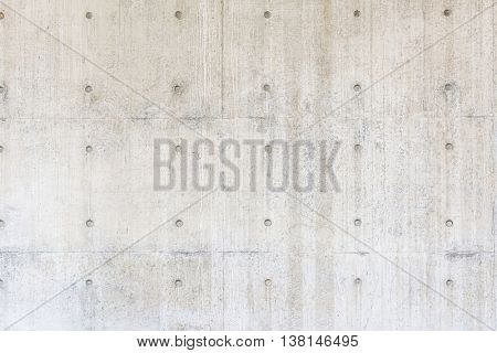Exposed Concrete wall background with nobody