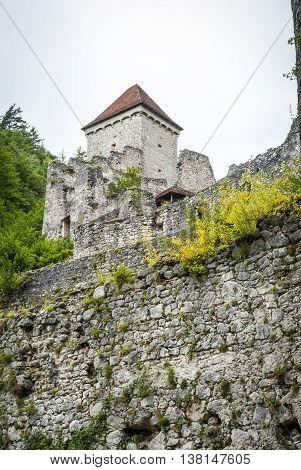 Grad Kamen Ruins, Slovenia