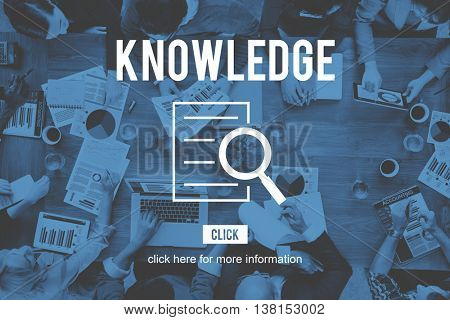 Knowledge Research Investigation Discovery Concept