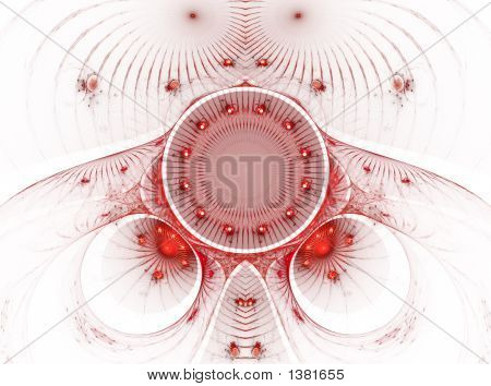 The Abstract Color Fractal Image. Texture. Background.