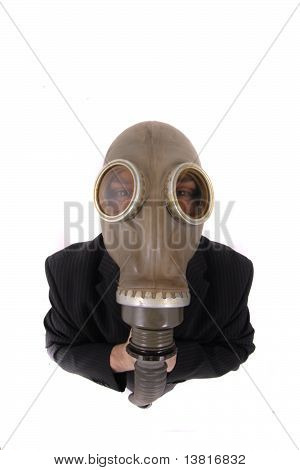 Manager And Gas Mask