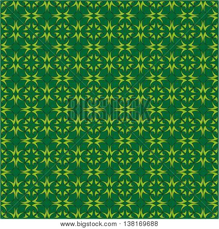 Green abstract shapes. Abstract background for print and web