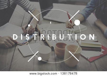 Distribution Arrangement Supplying Dealing Concept