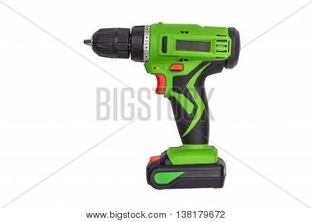 image of drill isolated on white background