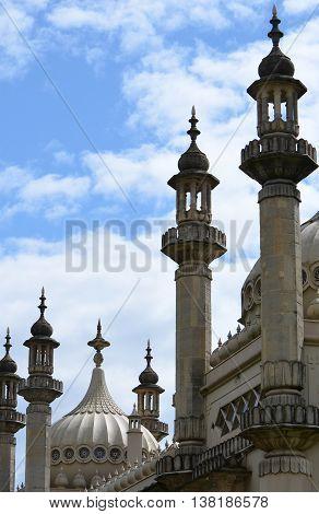 The Royal Pavilion (Brighton Pavilion) Rooftop Architecture