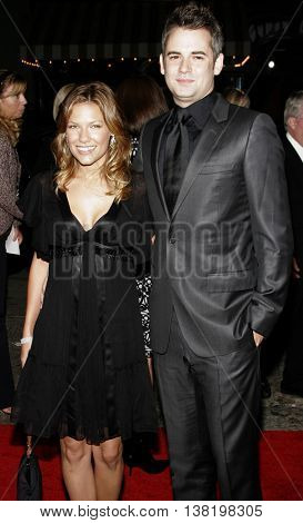 Kiele Sanchez and Zach Helm at the Los Angeles premiere of 'Stranger Than Fiction' held at the Mann Village Theatre in Westwood, USA on October 30, 2006.