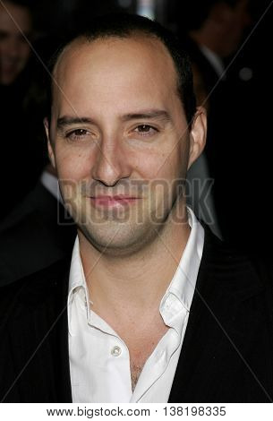 Tony Hale at the Los Angeles premiere of 'Stranger Than Fiction' held at the Mann Village Theatre in Westwood, USA on October 30, 2006.