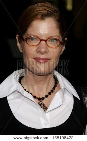 Michelle Stafford at the Los Angeles premiere of 'Stranger Than Fiction' held at the Mann Village Theatre in Westwood, USA on October 30, 2006.