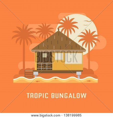 Tropic Bungalow House