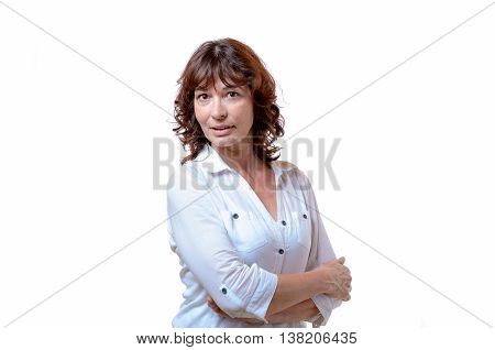 Attractive Confident Middle-aged Woman