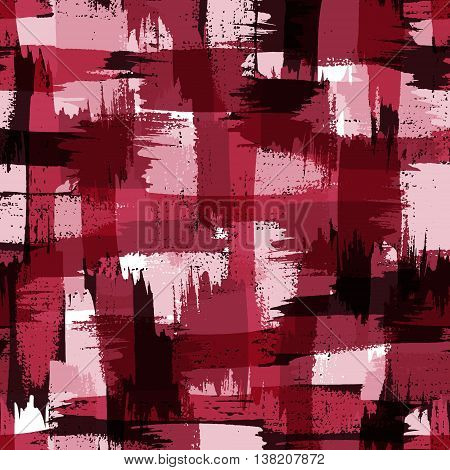 Raster military camouflage pattern. Pink trendy color