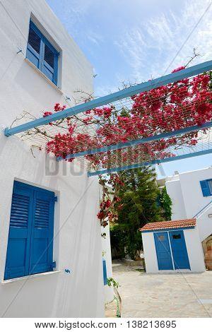 The building of luxury villa Crete Greece