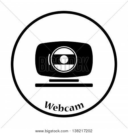 Webcam Icon Vector Illustration