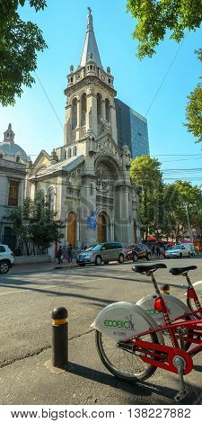 Verbo Encarnado And Sagrada Familia Parrish In Roma Norte,  Mexico City