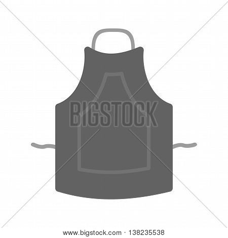 Kitchen, apron, cover icon vector image. Can also be used for kitchen. Suitable for use on web apps, mobile apps and print media.