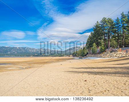 Beautiful Tahoe Lake, California