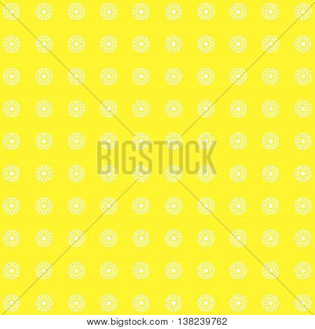Floral yellow pattern. Fine texture with flowers