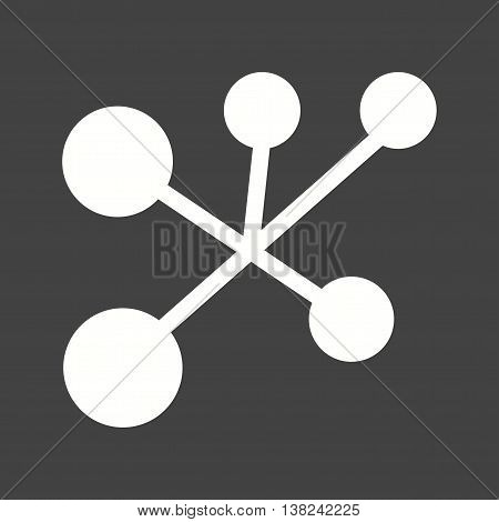 Intranet, network, technology icon vector image.Can also be used for networking. Suitable for mobile apps, web apps and print media.