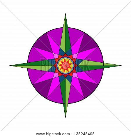 Abstract star icons vector illustration. Colorful marketing corporate abstract star. Art template style success decoration abstract star design graphic business sign. Shape symbol star icon.