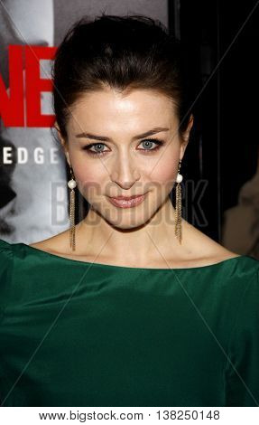 Caterina Scorsone at the Los Angeles premiere of 'Edge of Darkness' held at the Grauman's Chinese Theater in Hollywood, USA on January 26, 2010.
