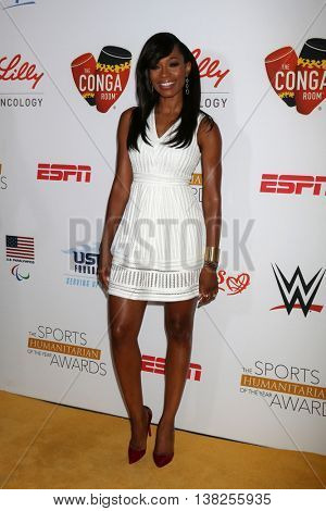 LOS ANGELES - JUL 12:  Cari Champion at the 2nd Annual Sports Humanitarian Of The Year Awards at the Congo Room on July 12, 2016 in Los Angeles, CA