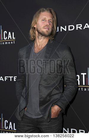LOS ANGELES - JUL 11:  Matt Barr at the  Undrafted Los Angeles Premiere  at the ArcLight Hollywood on July 11, 2016 in Los Angeles, CA