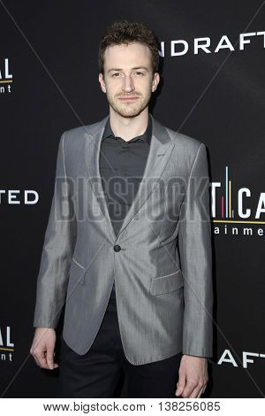 LOS ANGELES - JUL 11:  Joe Mazzello at the  Undrafted Los Angeles Premiere  at the ArcLight Hollywood on July 11, 2016 in Los Angeles, CA