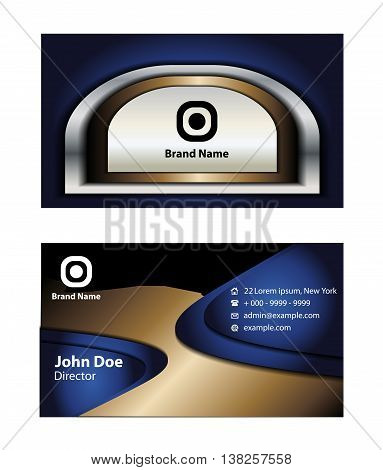Business cards. Business cards Elements for design