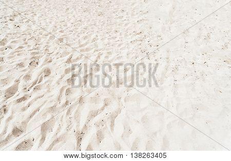 White Beach Sand Background. Sandy Texture pattern