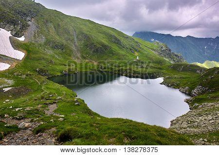 Lake Capra In Romania