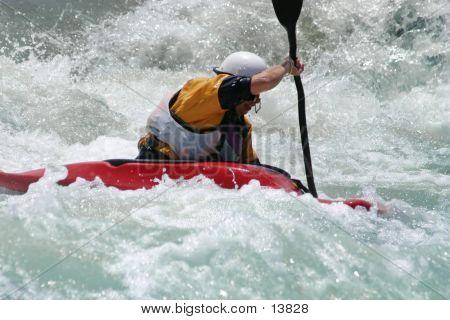 Battling The Rapids