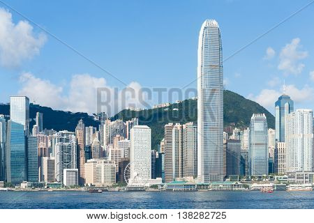 Hong Kong cityscape at day time
