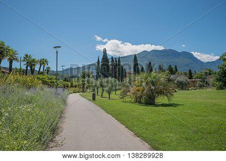 Beautiful City Recreation Park At Riva Del Garda