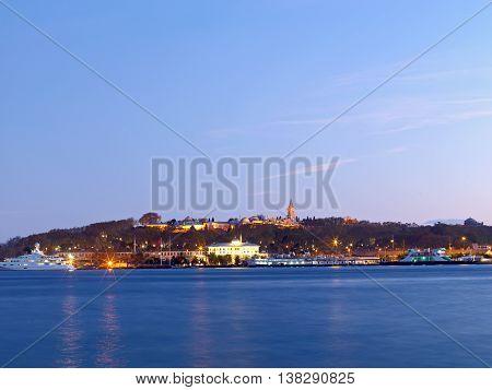 Amazing landscape shoot at Istanbul historical peninsula