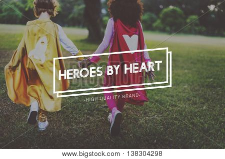 Kids Innocent Hero Young Youth Concept
