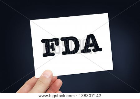FDA concept