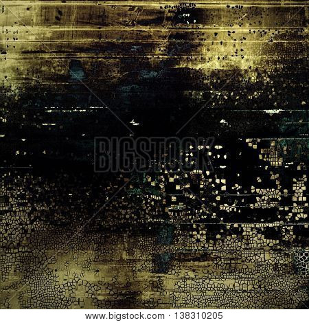 Beautiful retro background, nice looking ancient texture with different color patterns: yellow (beige); brown; gray; black; blue