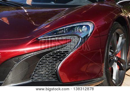 italy sardinia - july 2016 porto cervo McLaren P1