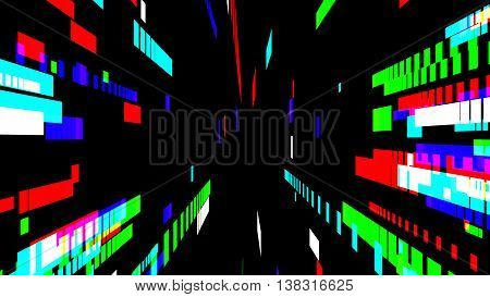 multi colored block and lines background image