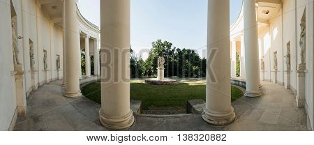 Temple of Three Graces in Lednice south Moravia built between 1824 and 1825 Lednice-Valtice Cultural Landscape - Czech Republic