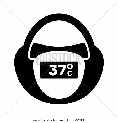 Baby pacifier digital thermometer ( shade picture )